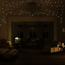 Glow in the Dark Star Wall Stickers 407pcs Round Dot Luminous Child Room Decor