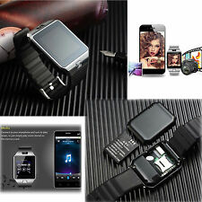 Bluetooth Smart Wrist Watch With Camera & SIM TF Slot For Android Samsung HTC LG
