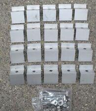 20 Unirac B clear End mount clamps 30-32 mm 1.18-1.26 SOLAR PANEL 320013/302002C