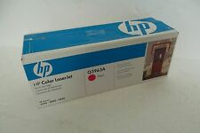 HP Toner Cartridge Magenta LaserJet 2550 2820 2840 Q3963A OEM MFR SEALED BOX NEW