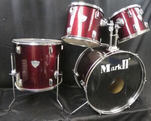 Mark 2 4 Piece Drum Kit: 22x14 16x16 11x13  10x12