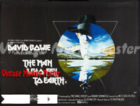 The Man Who Fell to Earth 1976 Repro Reproduction Print
