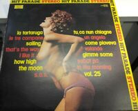 LP 33 TOP Hit Parade 25 Joker SM 3800 ITALY 1976 NUDE  cover