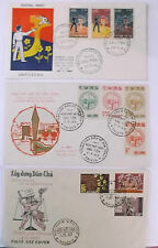 lot of three    vietnam  first day  of issue stamp  covers    [ lot  2 ]