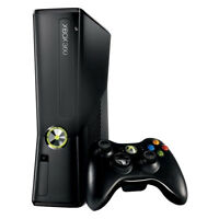 Microsoft Xbox 360 Slim - 250Gb Black Console (PAL)