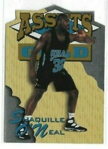 SHAQUILLE O'NEAL 1995 CLASSIC ASSETS GOLD DIE-CUT #SDC2 HOF FREE SHIPPING