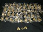 """49 Reproduction Ornate Brass Knobs 1 1/2"""" h5"""