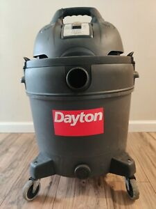 Dayton Wet/Dry Shop Vac 16g 12A