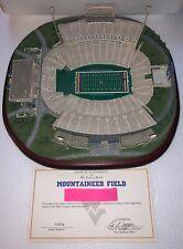 Danbury Mint West Virginia Wvu Mountaineer Field Football Stadium Model