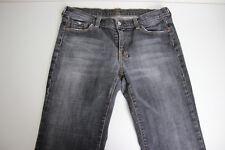 Women's 7 For All Mankind Black Jeans Dojo Jeans Size 32 Boot Cut