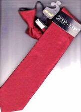 Zipper Men's Ties.