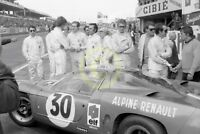 Photo Le Mans 24 Hours 1968 Alpine Renualt A220 Cortanze Vinatlier Therier etc