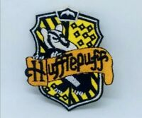Hufflepuff House crest Harry Potter Embroidered Iron on Sew on Patch j1351