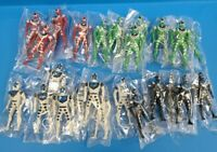 "Mighty Morphin Power Rangers MMPR KO lot of 24 Plastic Action Figure 3"" Toys New"