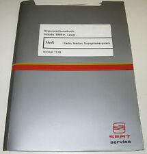 Werkstatthandbuch Seat Toledo Leon Radio Telefon Navigation System ab 1999!