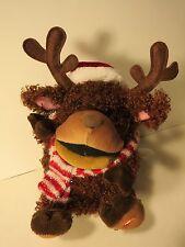 Gemmy Reindeer Sings Dances *Works