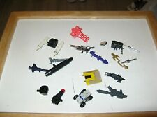 Transformers G1 Guns & Weapons &  Parts Lot + Other Toy Line Parts