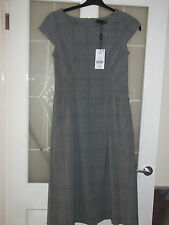Polyester Checked Tall Dresses for Women