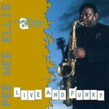 PEE WEE ELLIS - LIVE AND FUNKY  CD NEU