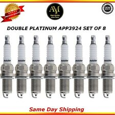 Double Platinum Spark Plugs APP3924 Set of 8 Bentley Mercedes-Benz Land Rover