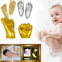 3D Plaster Handprints Footprints Baby Adult Hand&Foot Casting Mini Kit Keepsake