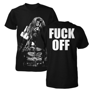 Rob Zombie F**K OFF MIDDLE FINGER T-Shirt NEW 100% Authentic & Official Rare!!!