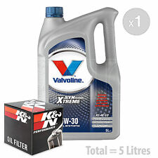 Engine Oil and Filter Service Kit 5 LITRES Valvoline SynPower C3 5W-30 5L