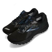 Brooks Ghost 12 GTX Gore-Tex Black Blue Men Running Shoes Sneakers 110311 1D