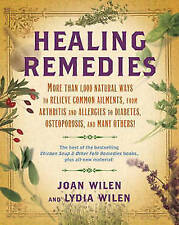 Very Good Joan Wilen,Lydia Wilen, Healing Remedies: More Than 1,000 Natural Ways