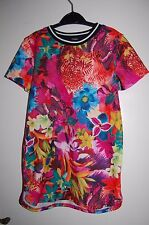 George Long Top with Tropical Flowers Multicoloured Age 7-8 Years BNWT