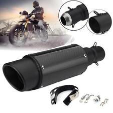 Universal 38-51mm Motorcycle Carbon Fiber Exhaust Muffler Pipe For Dirt Bike OF