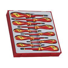 Teng Tools TTDV910N - 10 Piece 1000 Volt Screwdriver Set