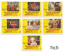 Belle of New York Lobby Cards Set of 7 1952 Fred Astaire - NM