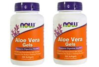 Now Foods - Aloe Vera Gels, 100 Softgels - 2 Packs