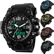 Fashion Watch Sport Quartz Wrist Men Boy Analog Digital Waterproof Diving Latest