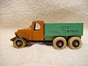 Antique Vintage 1930s TootsieToy  Mack City Fuel Company Truck