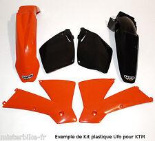 Kit Plastiques Polisport UFO KTM 125 144 150 200 SX 2001-2002 couleur Origine