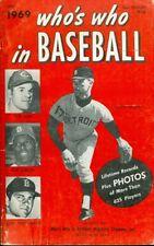 1969 Who's Who in Baseball: Denny McLain, Pete Rose, Bob Gibson, Carl Yasrzemski