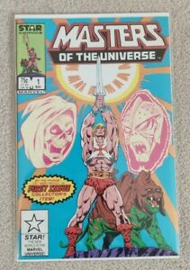 Masters Of The Universe #1 NM Marvel Star Comics 1986 New Netflix Series