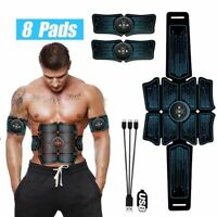 Electrostimulation Muscle Stimulator Ems Abdominal Vibrating Belt Abs Trainer