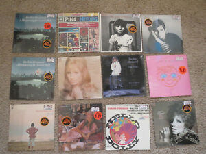 Lot of 12 NEW Sealed Barbra Streisand Vinyl LPs