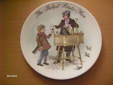 Collector plate The Baked Potato Man 1985. 6630F. Wedgwood Bone China England.