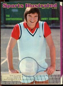 SI: Sports Illustrated March 4, 1974 The Controversial Jimmy Connors Tennis G