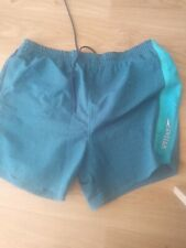 Men's Speedo Blue Checked Swimming Shorts - Sz X Large