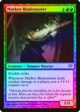 Markov Blademaster FOIL Dark Ascension HEAVILY PLD Red Rare MAGIC CARD ABUGames