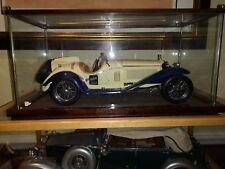 Pocher Alfa Romeo Factory built in original display very rare 1:8 scale model