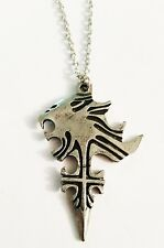 """Final Fantasy Series Squall Leonhart Symbol Pendant Necklace with 20"""" Chain"""