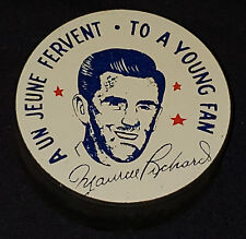 1955 - MAURICE RICHARD - MONTREAL CANADIENS - NHL - 500th GOALS - SOUVENIR PUCK