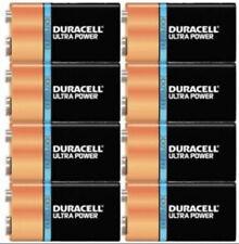 Duracell Ultra 9 volt batteries Ultra 8 Pack Bulk Packaging