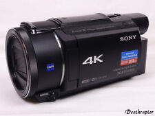 Sony FDR-AX53 Camcorder Zubehörpaket 4K Ultra HD AX53 - Wie NEU - Inkl. Rechnung